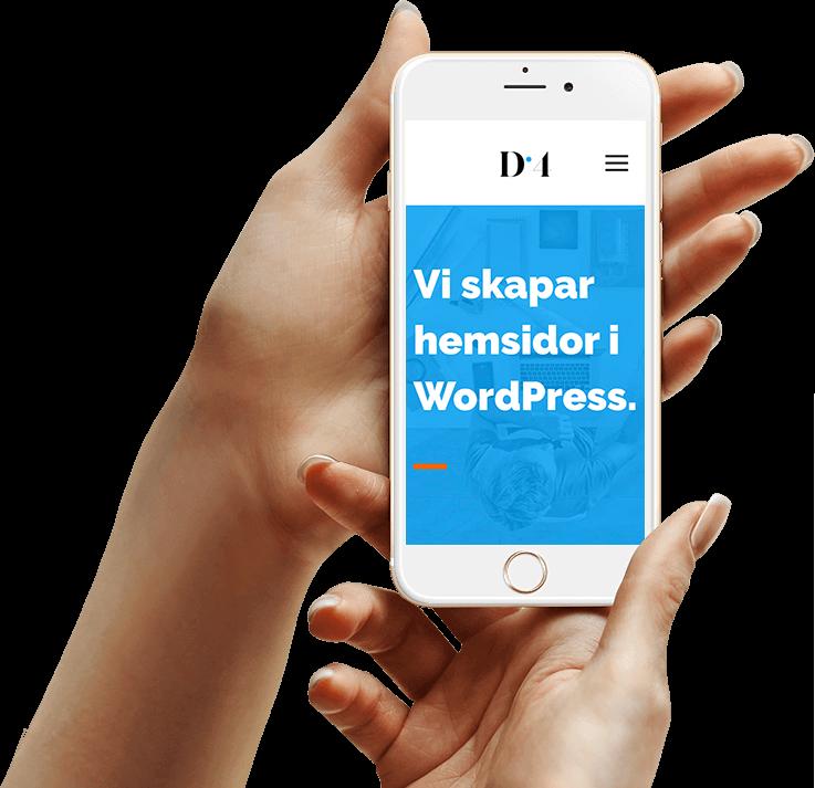 Önskar du en ny hemsida i WordPress till ert företag? Vi skapar moderna hemsidor till bra priser.